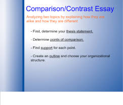smart exchange   usa   writing a comparison contrast essay in   writing a comparison contrast essay in  easy steps
