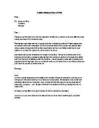 resignation letter without notice format   my perfect resume reviewsresignation letter without notice format resignation letter resignation letter sample