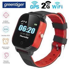 Greentiger FA23 <b>Smart Watch</b> Kids GPS WIFI SOS Tracker IP67 ...