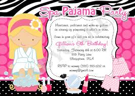 slumber party invitations make your own unique wedding invitations pajama party invitation theruntime
