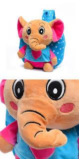 [Visit to Buy] Cute <b>cartoon</b> toys <b>small elephant backpacks</b> children ...
