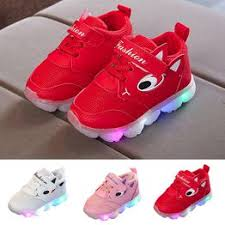 Toddler Baby Girs Led Light Shoes Boys Soft <b>Luminous Outdoor</b> ...