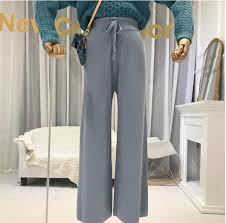 <b>2019</b> New Autumn and Winter High Waist Loose Wide Leg <b>Pants</b> ...