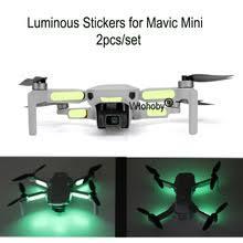 Светящаяся <b>наклейка для</b> ночного полета s для Mavic Mini ...
