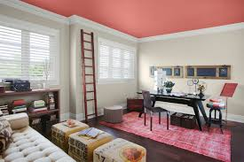 home office office color ideas office home office color workspace with colorful painting amp furniture nohomedesign best paint color for office