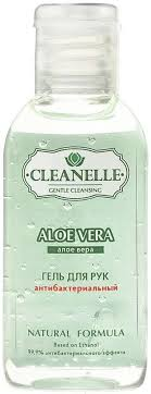 <b>Гель для рук</b> антибактериальный Cleanelle, 60 мл, 1 шт – купить ...