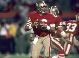 all time team san francisco 49ers nfl com quarterback joe montana 25 national football league