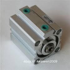 SDA50 Pneumatic Double Acting Compact <b>Thin</b> Air <b>Cylinder</b> Bore ...