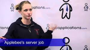 applebee s interview server