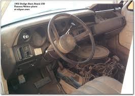dodge b series vans ram van and ram wagon 1982 dodge van interior