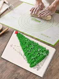 <b>Christmas</b> Tree Cake Mold <b>Silicone</b> Chocolate Fondant Cake ...