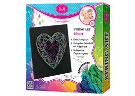 <b>Набор D&M STRING</b> ART Сердце 69312 купить в Москве
