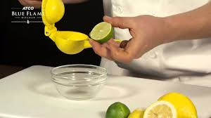 How to use a <b>lemon squeezer</b> - YouTube