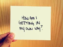 Image result for i'm in my own way