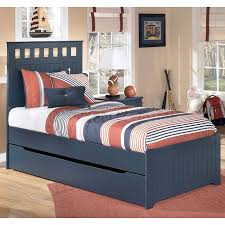 leo panel bed w trundle ashley leo twin bedroom set