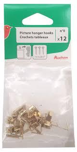 Купить <b>Набор крючков</b> для рамок Auchan Красная Птица, <b>12</b> шт с ...