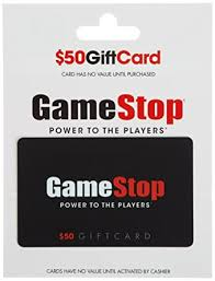 Amazon.com: GameStop Gift Card $50: Gift Cards
