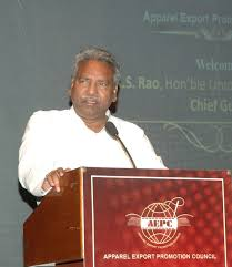 The Union Minister of Textiles Dr. Kavuru Sambasiva Rao
