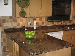 Granite Tile Kitchen Love This Backsplash And It Matches My Granite Color I Think