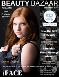 December magazine issuu 2017 by About Face of Mandeville - issuu