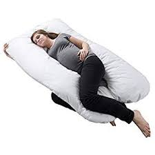 Pregnancy Pillow, Full Body Maternity Pillow with Contoured <b>U</b> ...