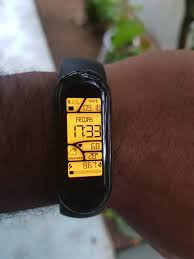 I have the <b>Chinese mi band 5</b>! Ask me anything : <b>miband</b>
