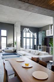 living group london miami simple loft apartment design by b group modern design ideas