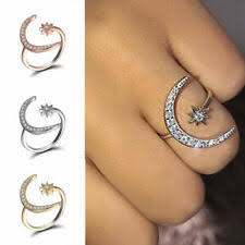 <b>Rhinestone</b> Copper Band Fashion Rings for sale | eBay