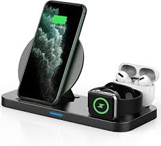 Updated Version <b>3 in 1 Wireless</b> Charger, Apple Watch: Amazon.co ...