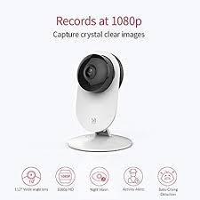 <b>YI 1080p</b> Home Camera, Indoor 2.4G <b>IP</b> Security Surveillance ...