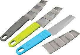 <b>Нож</b> туристический <b>MSR Alpine</b> Kitchen <b>Knife</b>, 07091, синий ...