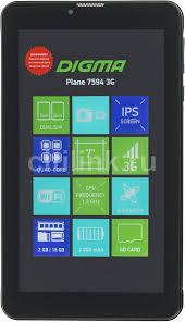Купить <b>Планшет DIGMA Plane</b> 7594 3G, 2GB, 16GB черный в ...