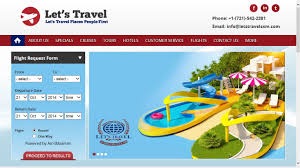 <b>Let's Travel</b> Launches <b>New</b> Website at <b>Lets</b>-<b>Travel</b>.com