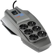 Сетевой фильтр ZIS <b>Pilot X-Pro</b> 6 розеток <b>7</b> м <b>серый</b>, купить в ...