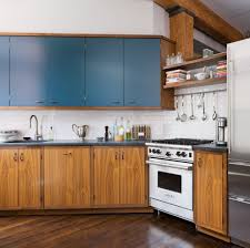 apartment kitchen design wooden