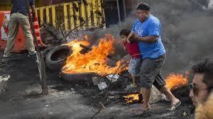 <b>Police rebel</b> as Honduras election crisis deepens | Financial Times