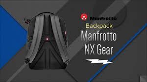 <b>Manfrotto</b> Grey <b>NX</b> Collection Gear Backpack <b>MB NX</b>-<b>BP</b>-VGY ...