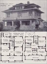 ideas about Vintage House Plans on Pinterest   Vintage     Western Home Builder   Prairie Box House Plan   Seattle Vintage Homes   Design No