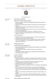 recruiting consultant resume samples   visualcv resume samples    recruiting consultant ii resume samples