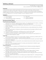 professional construction superintendent templates to showcase resume templates construction superintendent