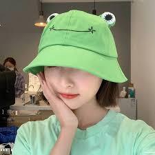 Women <b>Fashion Frog</b> Bucket Hat New Summer Hat Female Parent ...