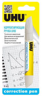 Купить <b>UHU</b> Корректирующая <b>ручка</b> 8 мл по низкой цене с ...