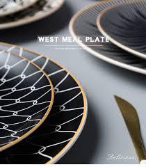 Посуда, керамическая <b>обеденная тарелка</b>, <b>набор тарелок 8</b>/10 ...