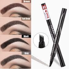 <b>LULAA Liquid</b> Eyebrow Pencil Four Heads Eye Brow Enhancer ...