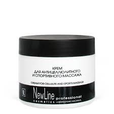 <b>Крем для антицеллюлитного</b> массажа, косметика NEW LINE от ...