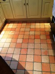 Terracotta Kitchen Floor Tiles Tiled Floor Wiltshire Tile Doctor