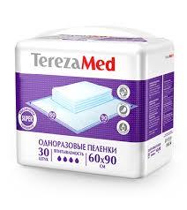 <b>TerezaMed</b> Пеленки <b>одноразовые Super</b> 60x90 уп.30 для ...
