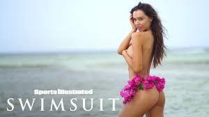 Alexis Ren Wears Nothing But A <b>Bikini</b> Bottom Made Of <b>Flowers</b> ...
