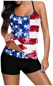 Amazon.com: WOCACHI <b>Womens</b> Plus Size Swimsuits <b>2021</b> ...