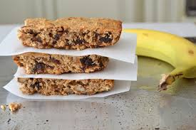 Image result for peanut butter banana oatmeal bars